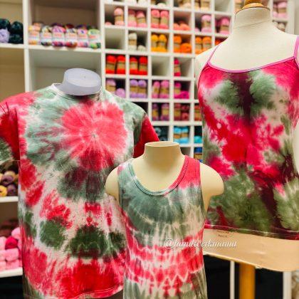 Tie dye en dip dye tutorial